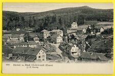 cpa Alsace en 1905 HOTEL u. BAD HOHWALD Vogesen (Elsass) J.H. KUNTZ Postkarte