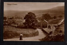 Thwaite Village, in Swaledale - real photographic postcard
