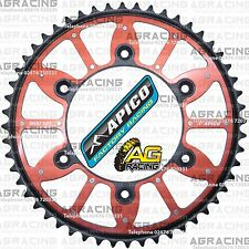 Apico Xtreme Red Black Rear Alloy Steel Sprocket 52T For Honda CR 125 1994 MotoX