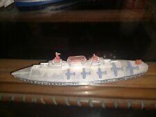 Vintage Tootsietoy Aircraft Carrier - Military Navy Ship metal toy - Usa