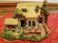 K's Collection Decorative House Miniature Vintage Thatched Roof Cottage Chritsma
