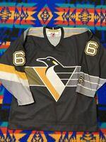 Pittsburgh Penguins Mario Lemieux Black/Gold Hockey Jersey -  Koho Away Nhl