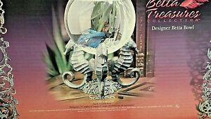 BETTA TREASURES DESIGNER BOWL KIT,  THE ORIGINAL !!