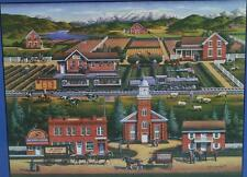 2001 Dowdle Folk Art ~ Heber City Utah ~ 550 Piece Puzzle ~ New