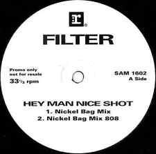 "FILTER - Hey Man Nice Shot (12"") (Promo) (VG+/VG)"