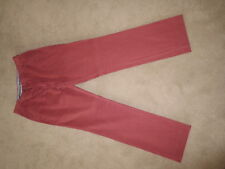 MENS CORDINGS OF PICCADILLY RED PINK CLASSIC CHINOS TROUSERS 34 MINT NEW RARE!