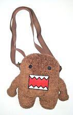 "Domo Kun Brownie Soft Plush Mini Soulder Backpack Japanese Kawaii Anime 9.5"""