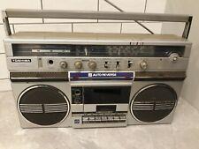 Toshiba RT170S Large Boombox Ghetto Blaster 80s Radio cassette player tape retro
