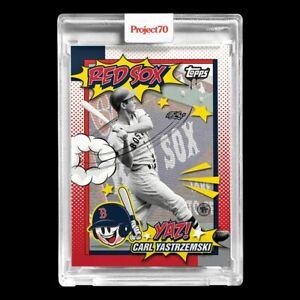 Topps PROJECT 70 Card 201 - Carl Yastrzemski by Toy Tokyo - PRESALE!