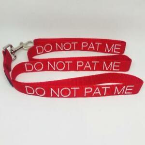 Dog Pet DO NOT PAT ME - Dog Lead - Help Your Dog Keep A Safe Distance