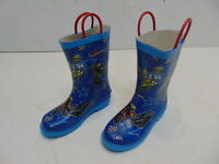 Smooth Rain Boots MX Superstars Size 12 Youth 3001-012 NOS