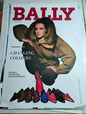 Plakat Bally Schuhe Autumn Women 1990  DIN A0 TOP!