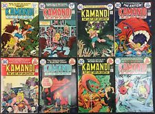 Kamandi Comics (Lot of 8) Vintage 1974