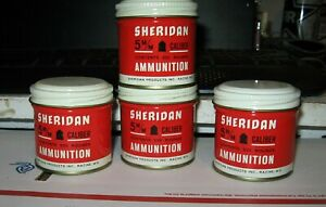 Vintage Sheridan .20 cal/5mm 500 Count Cylindrical Lead Pellets MINT CONDITION !
