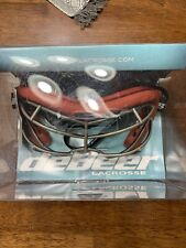 DeBeer Womens Lacrosse Goggles Vista Si Red Protective Glasses Mask