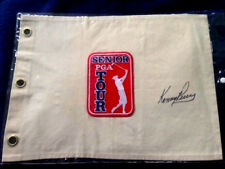 """AWESOME! CLASSY! SENIOR PGA TOUR GOLF FLAG AUTOGRAPHED BY """"KENNY PERRY""""!"""