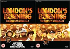 Londons Burning  1-7 & 8-14   Complete Series     New     Fast  Post