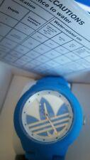 New Adidas Originals ADH3118 Quartz  Watch Resistance Sports Blue White