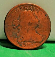 US 1/2 Cent 1804 Full Rim Coin
