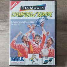 Sega Master System ► Champions of Europe-uefa'92 ◄ completamente en OVP | Top