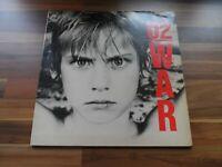U2 War - vintage vinyl record LP - 1983 Island records