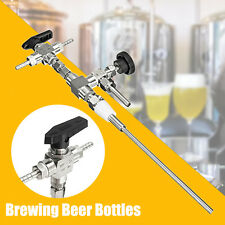 Stainless Steel Counter Pressure Beer Bottle Filler Home Brew Brewing CO2 Kit