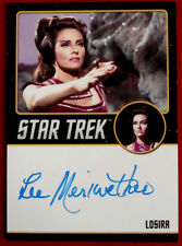 STAR TREK TOS 50th - LEE MERIWETHER as Losira - VERY LIMITED Autograph Card