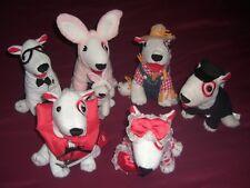"""2012/13 Target Bullseye 7"""" Dogs Bunny W/ Baby Nerd Valentine Scarecrow Canoe Cop"""