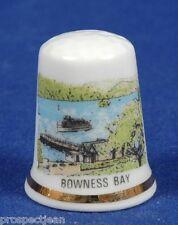 Bowness Bay, Cumbria China Thimble B/45
