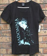 Official Ladies Madonna Merchandise Madonna Boy Toy Label Black Cotton T Shirt