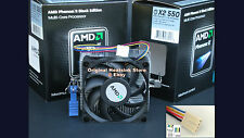 AMD Phenom CPU Cooler Heatsink for II X2 545 555 560 565 Socket AM2+ AM3 New