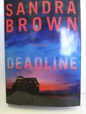Deadline By Brown, Sandra large print hardcover Book Club edition