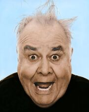 "JONATHAN WINTERS COMEDIAN HOLLYWOOD ACTOR 8x10"" HAND COLOR TINTED PHOTO"