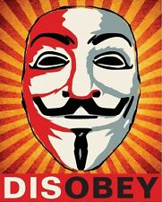 Shepard Fairey Obey  Disobey  16 x 20 poster