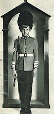Vintage diagram sewing pattern buckingham palace guardsman uniform fancy dress