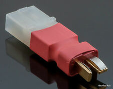 No Wires Connector - Tamiya Female to Male T-Plug Adapter (Deans Style)