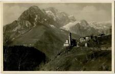 1930 Presolana - La Valle di Scalve, vista monti innevati - FP B/N VG