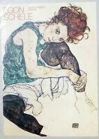 PRL) 1987 EGON SCHIELE VINTAGE AFFICHE POSTER ART PRINT NATIONAL GALLERY PRAHA