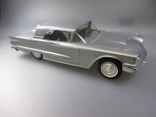 AMT: US Promo Car, 1:25 ,mint condition, Ford Thunderbird, plastic, silver, 1960