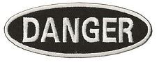 Patch écusson patche DANGER danger thermo thermocollant badge logo