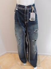 NEW RRP$300 LAGUNA BEACH JEAN CO. HAND STITCHED JEANS SIZE 42 (#179