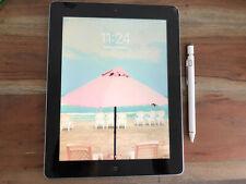 Apple iPad 4th Gen. 16GB, Wi-Fi, 9.7in - Black + Stylus Pen