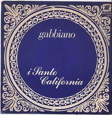 "I SANTO CALIFORNIA - Gabbiano - VINYL 7"" 45 LP 1977 VG+ COVER VG CONDITION"