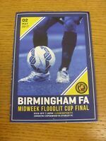 02/05/2017 Birmingham Midweek Floodlit Cup Final: Coventry Copsewood v Studley [