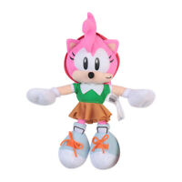 9Inch Sonic The Hedgehog Amy Rose Soft Plush Doll Christmas Gift