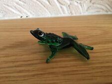 Murano Glass Green Frog (No 59)