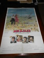 MIRACLES (1986) TOM CONTI ORIGINAL ONE SHEET POSTER