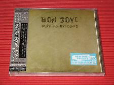 2015 BON JOVI BURNING BRIDGES  with Bonus Track ( Total 11 tracks )  JAPAN CD