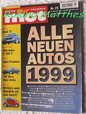 MOT 25-98+MERCEDES E 290 T+VOLVO S 80 T6+AUDI TT+VW BORA+OPEL ASTRA & FRONTERA