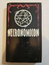 Necronomicon Vintage Paperback Book Simon Avon PB (1980)